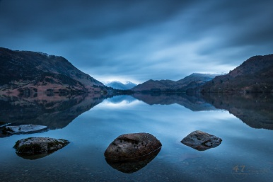 Ullswater before sunrise