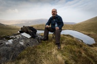 Lunch above Bowscale Tarn