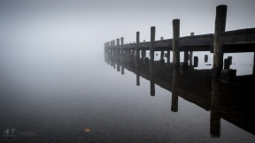Jetty in Mist