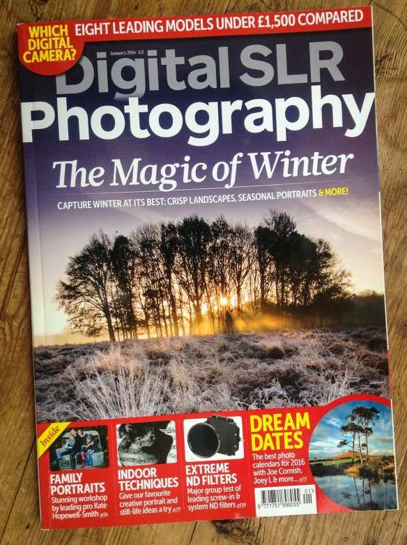 Digital SLR Photography January issue