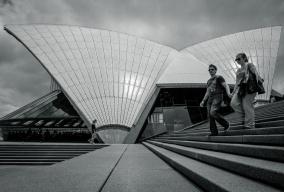 Opera House Tourists