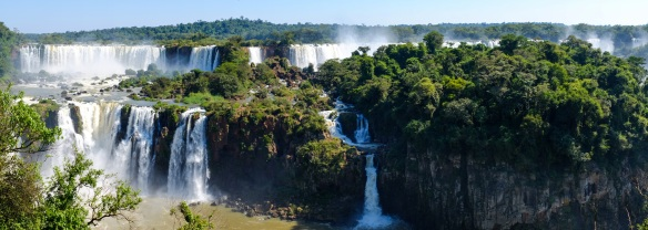 Iguacu Falls Panorama