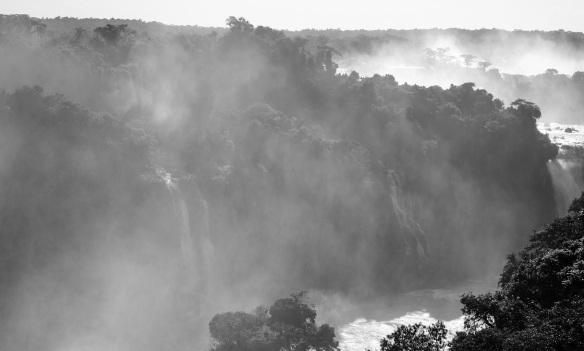 Mist Over Iguacu Falls